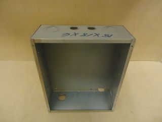 Heavy Duty Electrical Box 18in H x 15in w x 6in D Gray Metal