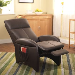 Faux Leather Recliner Chair Lounge Furniture Lazy Boy Office Chaise Reclining