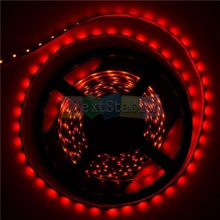 5M 3528 SMD Red 300 LEDs Waterproof Flexible Strip Lights 12V 5A Powrer Supply