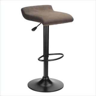 Winsome Marni Air Lift Black Finish Bar Stool