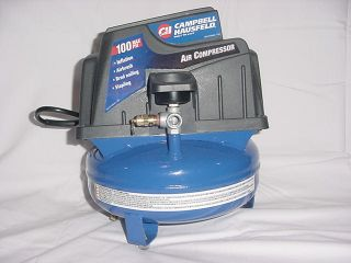 Campbell Hausfeld Air Compressor 1 Gallon Tank 100 PSI