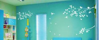 Home Decor Decals Vinyl Art Wall Stickers Removable Tree Branches Birds Leaves