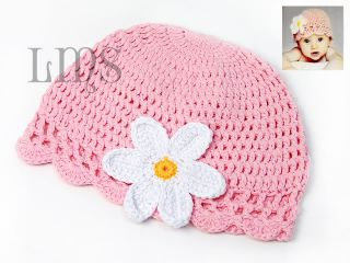 H14 New Infant Toddler Baby Girl Crochet Beanie Hat