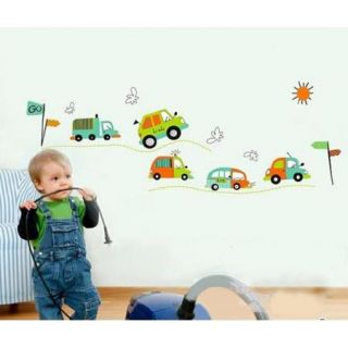 DIY Removable Cars Trucks Decor Nursery Children's Room Wall Stickers Decals WHM