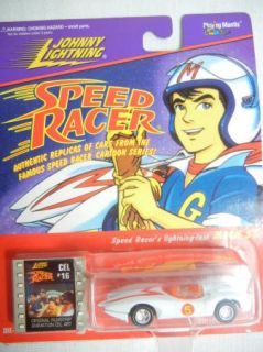 Johnny Lightning Speed Racer Mach 5 Racer x Shooting Star NIP New