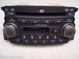 New 04 05 06 Acura TL Radio 6 Disc Changer CD DVD Player 1TB3 39100 Sep C011