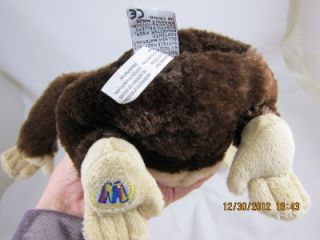Chimpanzee HM172 Webkinz Ganz No Code Used Full Size Plush Stuffed Animal