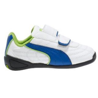 New Puma Tune Cat B Kids Shoes Boys White Trainers UK