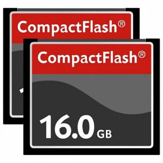 2x16 GB Compact Flash CF High Speed Memory Card
