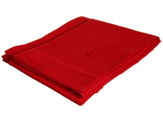 Lacoste Brushed Twill Pillow Cases   Standard Chili Pepper