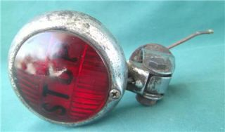 Cats Eye Red Stop School Bus Truck Brake Tail Light Lamp Rat Street Hot Rod