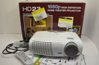 Optoma HD23 DLP 3D Home Theater Projector 5060059046102