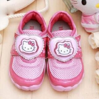 Hello Kitty Girls Kid Athletic Light Up Sneakers Shoes LED Pink 712304