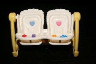 Fisher Price Loving Family Dollhouse Twin Double Baby Swing