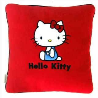 Hello Kitty Office Car Cushion Pillow Red Sanrio