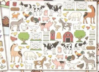 Over 700 Stickers Horses Farm Animals Zoo Fairy Tea Ballet Princess Pets Dogs