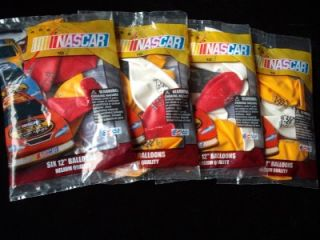 NASCAR Car Racing Party Balloons Birthday Supply Wholesale Lot 24