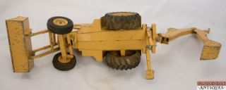 Vintage Ertl Brown Ford 755 Tractor Front End Loader Backhoe Attachments USA