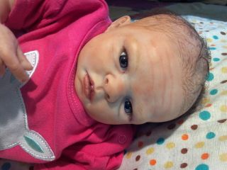 "OOAK Reborn Preemie Baby Girl ""Jewel"" by Denise Pratt Very Lifelike LR"