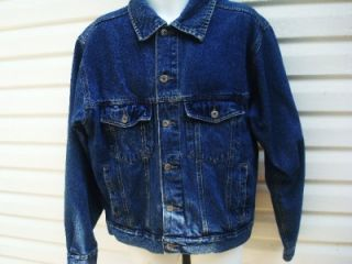Wrangler Hero Men's Denim Jean Jacket Size Large