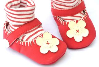 Red High Top Mary Jane Kids Toddler Baby Girl Shoes Boots UK Size 2 3 4