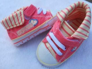 Red Tennis Kids Toddler Baby Girl Shoes UK Size 2 3 4