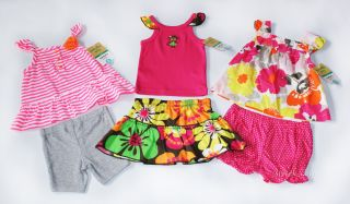 Baby Girls Summer Clothes Lot New Romper Dress Short Set 3M 6M 9M Carters