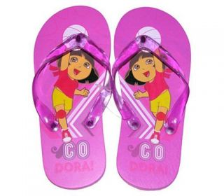 Dora The Explorer Volleyball Kids Girls Flip Flops Beach Sandals
