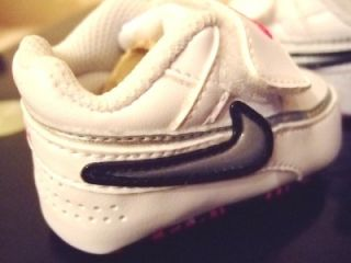 Baby Boys Nike Crib Velcro Soft Sole Trainers 0 5 2 5
