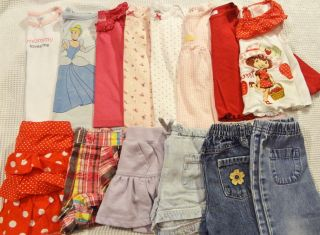 18 Pieces Baby Girl Clothes Winter Spring Lot Size 12 Months