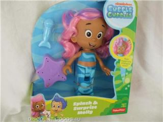 Bubble Guppies Molly Doll New in Box Molly Splash Surprise Bubble Guppies
