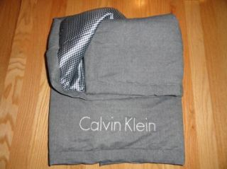 Calvin Klein Baby Boys Girls Newborn Layette Blanket Gray