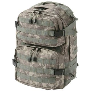 Heavy Duty Digital Camo Water Repellent Backpack Military Army Survival