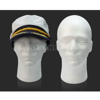 Hot Styrofoam Foam Mannequin Male Head Stand Model Display Holder Wig Hats Mask