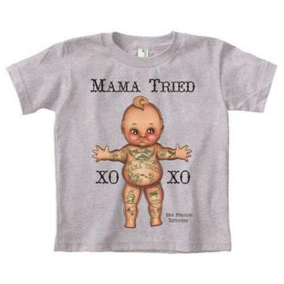 Toddler Tattoo Clothing Boys Girls Shirt Kids Apparel by Andres Perales
