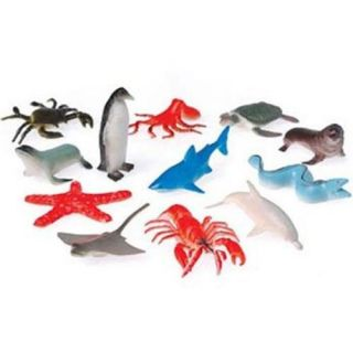 Mini Sea Creatures Assorted Plastic Figures Kid's Birthday Party Favors Ideas