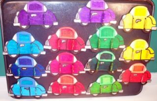 15 Wood Cars Magnetic Frames w Note Clips Party Favors