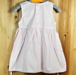 Beautiful New Pink Infant Baby Girls Dress Children Girl Clothes Size 2 Years