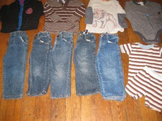 Baby Boys 3T Fall Winter Outfits Mix Match Clothes Clothing Huge Lot
