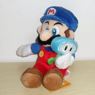 New Super Mario with Ice Flower Plush Doll Toy 6""