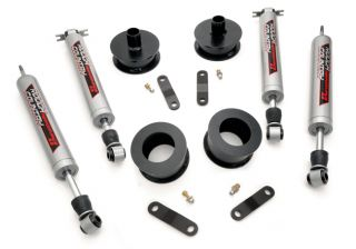 "Rough Country 657 2 5"" Entry Level Suspension Lift Kit Performance 2 2"