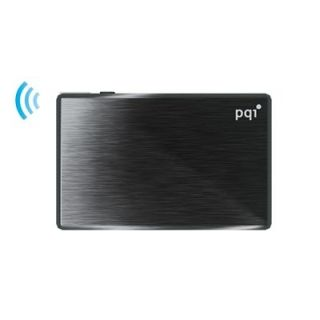 16GB PQI WiFi Air Drive Black Slim USB 2 0 iOS Wireless Portable Flash Drive