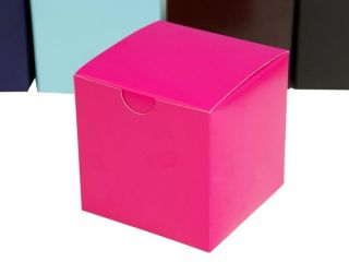 400 Pcs 3x3x3 inches Wedding Favor Gift Boxes Party Wholesale  Sale