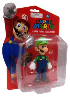 Super Mario Figurine Series Luigi Vinyl Figure Collectible Video Game PVC