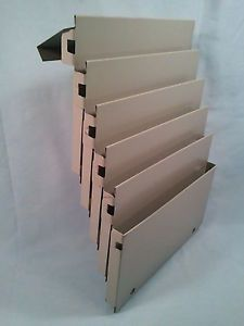 Vintage Industrial Age Cubical Wall File Folder Sorter Metal Organizer Tray