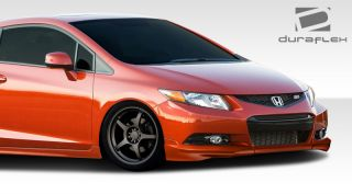 2012 2012 Honda Civic 2dr Duraflex H Sport Front Add Ons Body Kit