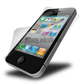 5 Front 5 Back Full Body Matte Anti Glare Screen Film Protector for iPhone 4G 4S