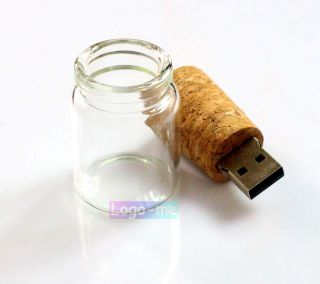 Float Bottle USB Drive Memory Flash Pendrive 512MB 2GB 4GB 8GB 16GB Thumb Stick