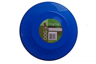 Black Blue Pet Dog Frisbee Flying Disk Fetch Accessory Training Toy Exercise New