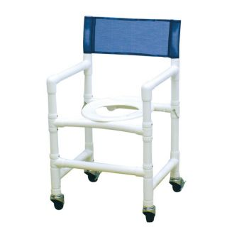 MJM International Standard Deluxe Folding Capacity Shower Chair with Optional Accessories & Reviews